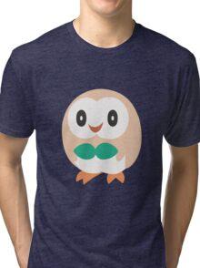 Rowlet - Pokemon Sun and Moon Tri-blend T-Shirt