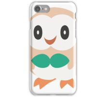 Rowlet - Pokemon Sun and Moon iPhone Case/Skin