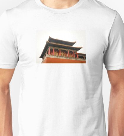 Forbidden City Building Unisex T-Shirt