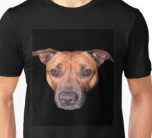 Staffordshire Bull Terrier, Face Of An Angel. Unisex T-Shirt