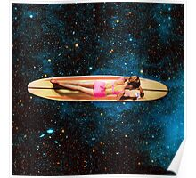 Pleiadian Surfer Poster