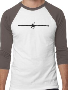 Barb Wire - for Shirts and Hoodies Men's Baseball ¾ T-Shirt