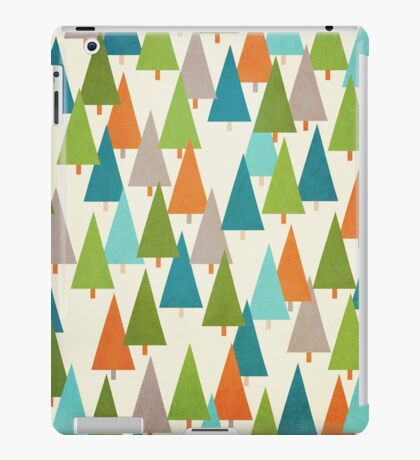 Mod Trees Pattern iPad Case/Skin