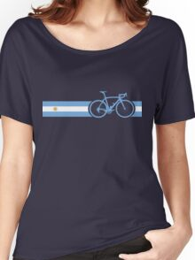 Bike Stripes Argentina Women's Relaxed Fit T-Shirt