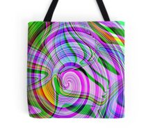 70's Psychedelic Abstract* Tote Bag