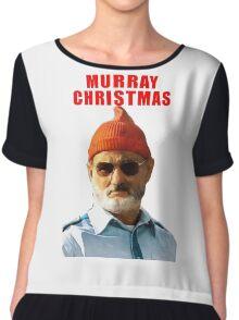 murray christmas Chiffon Top
