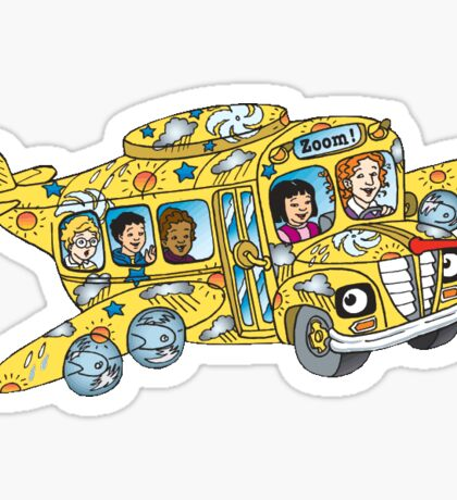 Magic School Bus Sticker