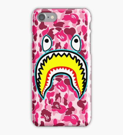 pink ape iPhone Case/Skin