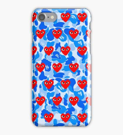 love bape iPhone Case/Skin