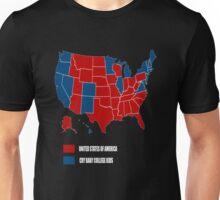 UNITED STATES OF AMERICA ELECTION MAP SHIRT Unisex T-Shirt