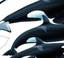 Custom Marine Mammal Design Sticker
