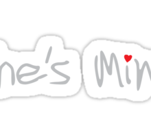 She's Mine Sticker