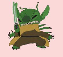 Yoda Stitch One Piece - Short Sleeve