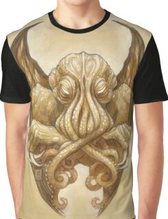 Cthulhu Dreaming, in Cyclopean sepia Graphic T-Shirt