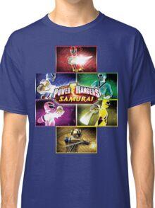POWER RANGERS SAMURAI MORPH Classic T-Shirt