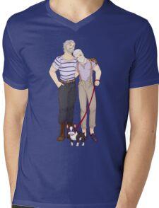 Golden Oldies Mens V-Neck T-Shirt