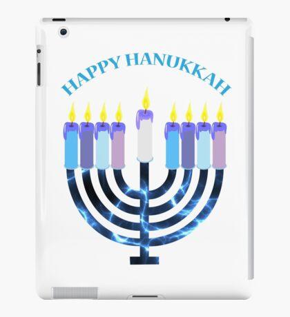 Happy Hanukkah Menorah iPad Case/Skin