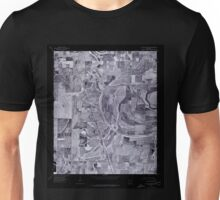 USGS TOPO Map Arkansas AR Lake Village NE 258892 1975 24000 Inverted Unisex T-Shirt