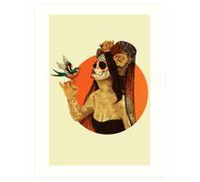 Calavera Princess Art Print