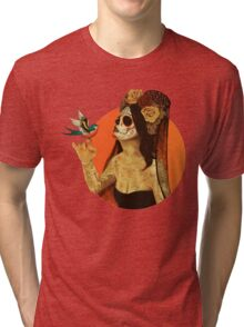 Calavera Princess Tri-blend T-Shirt