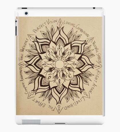 Wheel Mandala of Dharma  iPad Case/Skin