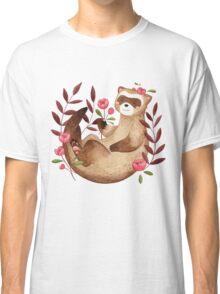 floral ferret bud Classic T-Shirt