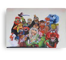 Muppets Canvas Print