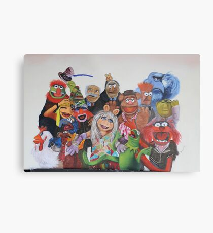 Muppets Metal Print