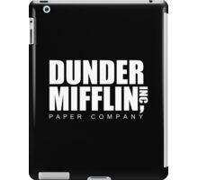 DUNDER Paper Company iPad Case/Skin