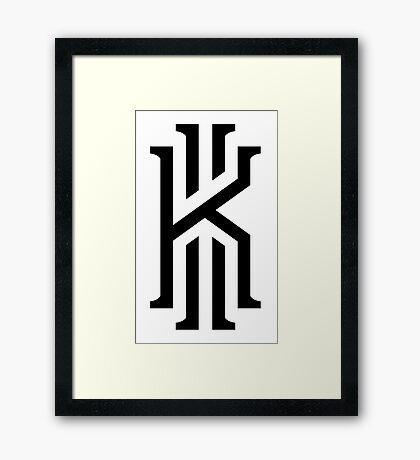 kyrie irving Framed Print