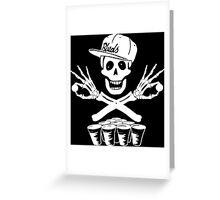 Pong Pirates Greeting Card