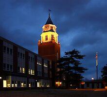 Pulliam Hall Clock Tower by Daniel Owens