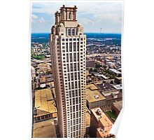 Above The Rest - 191 Peachtree On The Atlanta Skyline Poster