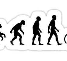 Bicycle Evolution Sticker