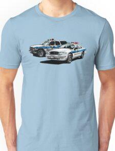 American Police Cars Unisex T-Shirt