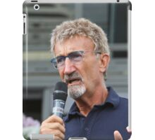 Eddie Jordan at the Southampton Boat Show 2014 iPad Case/Skin