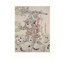 S.A.N.T.A. Trooper Art Print