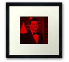Jimmy Kimmel - Celebrity (Square) Framed Print