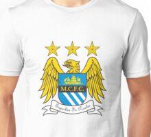 manchester city football club logo Unisex T-Shirt