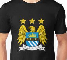 manchester city fc logo Unisex T-Shirt