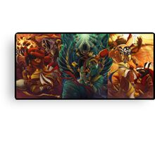 The Cycle of Rebirth Canvas Print