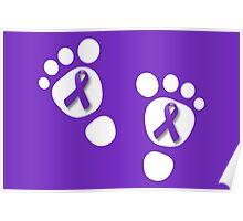 World Prematurity Day - Baby Feet Poster