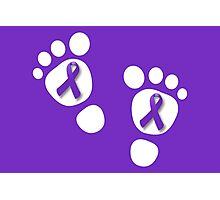 World Prematurity Day - Baby Feet Photographic Print