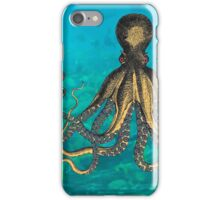 Octopus and the Diver iPhone Case/Skin