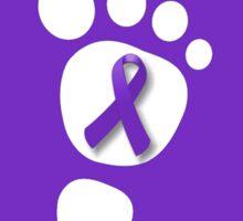 World Prematurity Day - Baby Foot Sticker