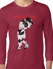 Red Discourse Long Sleeve T-Shirt