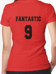 Fantastic - The 9th Doctor Women's Fitted V-Neck T-Shirt