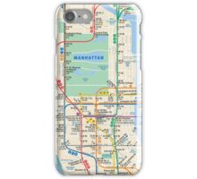 MTA Subway Map New York Manhattan Phone Case iPhone Case/Skin