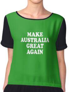 Make Australia Great Again Chiffon Top
