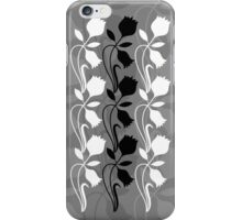 Layered Floral Silhouette Print (6 of 8 please see description) iPhone Case/Skin